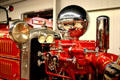 Ahrens Fox Fire Engine in Hall of Flame. Phoenix, AZ.