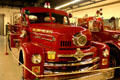 Seagrave Quad Fire Engine in Hall of Flame. Phoenix, AZ.