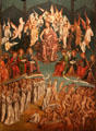 Last Judgment painting by Fernando Gallego, Francisco Gallego & workshop at University of Arizona Museum of Art. Tucson, AZ
