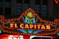 El Capitan Theater marquee. Hollywood, CA.