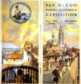 Brochure of San Diego Panama-California Exposition at LA County Natural History Museum. Los Angeles, CA.