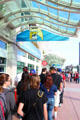 Lines at San Diego Convention Center during Comic-Con International. San Diego, CA.