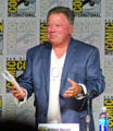 Actor William Shatner speaks at Comic-Con International. San Diego, CA.