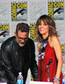 "Actors Jeffrey Dean Morgan & Halle Berry of ""Extant"" speak at Comic-Con International. San Diego, CA."