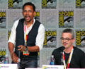 Hill Harper & Alex Kurzman of Limitless at Comic-Con International. San Diego, CA.