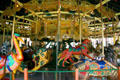 Array of animals on Balboa Park Carousel. San Diego, CA.