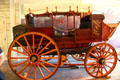 Los Angeles to San Diego stage coach at Seeley Stable Museum in Old Town. San Diego, CA.