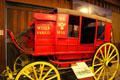 Wells Fargo stage coach at Seeley Stable Museum in Old Town. San Diego, CA.