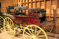 Vail's Park Wagon by Studebaker Manuf. Co. for freight & passengers at Seeley Stable Museum in Old Town. San Diego, CA.