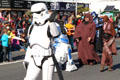 Star Wars contingent at Balloon Parade. San Diego, CA.