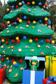 Lego Christmas tree at Legoland California. Carlsbad, CA.