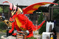 Lego dragon at Legoland California. Carlsbad, CA.