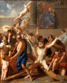 Martyrdom of St. Andrew painting by Charles Le Brun at J. Paul Getty Museum Center. Malibu, CA.