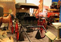 Horse-drawn buggy at San Bernardino County Museum. Redlands, CA.