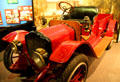 Early truck with kerosene lamps at San Bernardino County Museum. Redlands, CA.