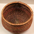 Mojave native basket bowl at San Bernardino County Museum. Redlands, CA.