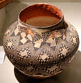 Ceramic olla from Laguna Pueblo, NM at Riverside Museum. Riverside, CA.