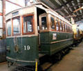 Streetcar 19 from Kyoto, Japan based on American design at Orange Empire Railway Museum. Perris, CA.
