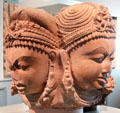 Four-faced Linga sculpture from Central India at Asian Art Museum. San Francisco, CA