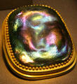 Favrile glass paperweight by Louis Comfort Tiffany at de Young Museum. San Francisco, CA.