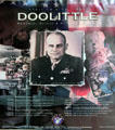 Poster celebrates Lt. Col. Jimmy Doolittle at Alameda Naval Air Museum. Alameda, CA.