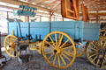 Horse drawn freight wagon at Northern Mariposa County Museum. Coulterville, CA