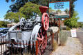 Just Jenny steam locomotive at Angels Camp Museum. Angels Camp, CA