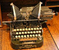 The Oliver Standard Visible Writer from Chicago at Calaveras County Downtown Museum. San Andreas, CA.