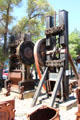 Gold-ore stamp mill crushing machines at El Dorado County Historical Museum. Placerville, CA.