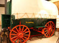 Studebaker covered wagon at El Dorado County Historical Museum. Placerville, CA.