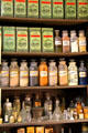 Botanic drugs from Parke Davis & Co. & other remedies at El Dorado County Historical Museum. Placerville, CA.