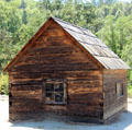 Miner's cabin at Marshall Gold Discovery SHP. Coloma, CA.