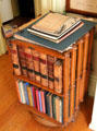 Rotary bookcase at Pardee Home Museum. Oakland, CA.