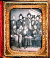 Eleven Men with Beards daguerreotype attrib. William Shew at Oakland Museum of California. Oakland, CA.