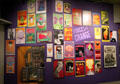 Posters from the psychedelic 60's at Oakland Museum of California. Oakland, CA.