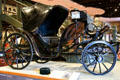 Victoria carriage by Brewster & Co. used by President Chester A. Arthur at El Pomar Carriage Museum. Colorado Springs, CO.
