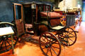 Brougham carriage by Brewster & Co. at El Pomar Carriage Museum. Colorado Springs, CO.
