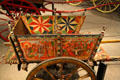 Cecilian donkey cart made in Spain at Forney Museum. Denver, CO.