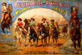 Poster of Wild West Girls in Buffalo Bill & Pawnee Bill show (c1910)