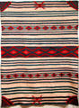 Navajo serape at Colorado Springs Fine Arts Center. Colorado Springs, CO.