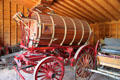 Water wagon by Austin Mfg. Co. at Rock Ledge Ranch Historic Site. Colorado Springs, CO.