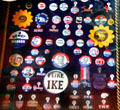 Presidential campaign buttons at Pueblo Union Depot Museum. Pueblo, CO.