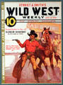 Street & Smith's Wild West Weekly Magazine with Mitchell's cover art at A.R. Mitchell Museum of Western Art. Trinidad, CO.