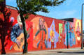 Musical performers mural. New London, CT.