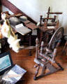Spinning wheels at Judson House. Stratford, CT.