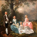 Gravenor Family paintings by Thomas Gainsborough at Yale Center for British Art. New Haven, CT.