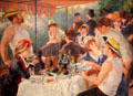 Luncheon of the Boating Party painting by Pierre-Auguste Renoir at The Phillips Collection. Washington, DC