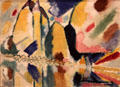 Autumn II painting by Wassily Kandinsky at The Phillips Collection. Washington, DC.