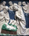 Nativity by Luca della Robbia in National Gallery of Art. Washington, DC.