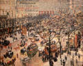 Blvd. des Italiens, Morning, Sunlight painting by Camille Pissarro at National Gallery of Art. Washington, DC.